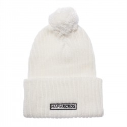 beanie MAFIA RCRDS off white