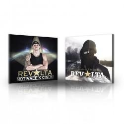 2x CD Revolta - Motivace k činům (signed) + Evoluce vědomí